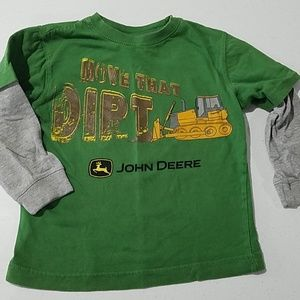 John deere Green Tractor S 4 long sleeve
